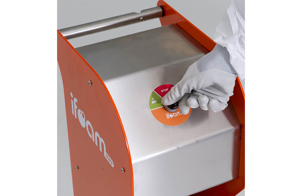 iFoam mini活性泡沫清洁设备 - Tegras厨房排油烟系统清洁设备 - Teinnova